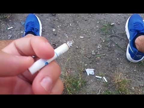 Обзор сигарет. Winston XSpression Fresh(С КНОПКОЙ). Цена, вкус, отзывы. Украина
