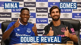 MINA AND GOMES SIGN FOR EVERTON! | REVEAL VIDEO