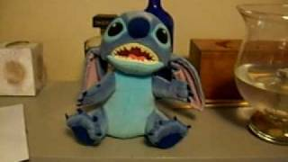 Interactive Talking Stitch Disney voice recognition doll