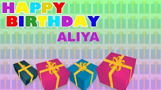 Aliya - Card Tarjeta_1709 - Happy Birthday