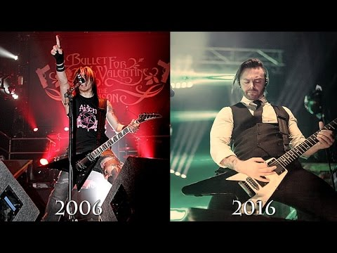 2006 Vs 2016 Bullet For My Valentine Her Voice Resides