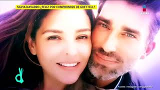 Silvia Navarro está más que feliz por el compromiso de Grettell Valdez | De Primera Mano