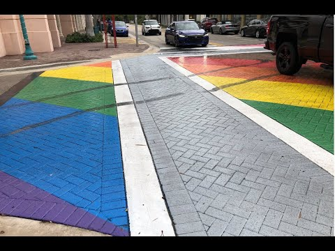 Police-make-arrest-in-Pride-crosswalk-vandalism
