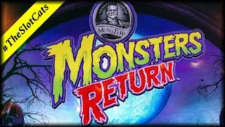 Monsters Return 💰 The Slot Cats 🎰😺😸