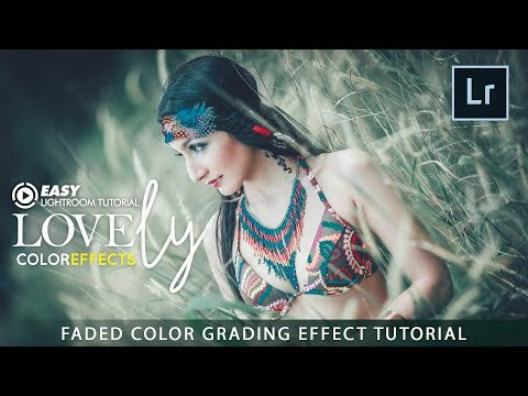 Adobe Lightroom - Faded Color Grading Effect Tutorial thumbnail