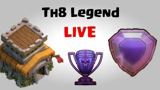 Th8 Legendary Attacks   Clash Of Clans