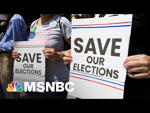 Democrats Add State-Level Republican Feedback To New Voting Rights Bill   Rachel Maddow