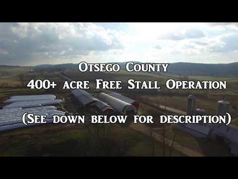 Otsego County NY 400 + acre Free Stall Operation
