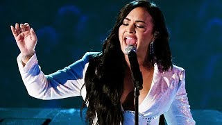 Demi Lovato - 'Anyone' RARE Audience Footage (Live Grammy Awards 2020)