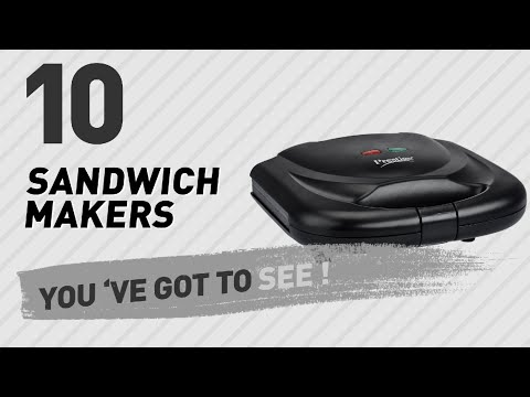 Sandwich Makers Collection, Amazon India 2017 // Home & Kitchen Best Sellers