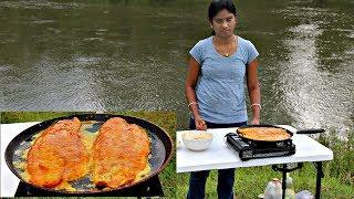 BASA FILLET RECIPE PAN FRY | BASA FISH | FISH RECIPES | Outdoor Cooking | GKN Flicks