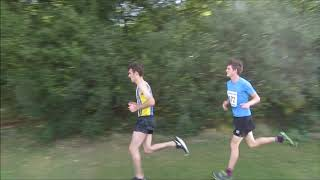 REACTING TO MY CROSS COUNTRY RACE (COMMENTARY)