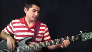 10,000 Reasons Bass (Bless the Lord) Tutorial by Kenny Butcher