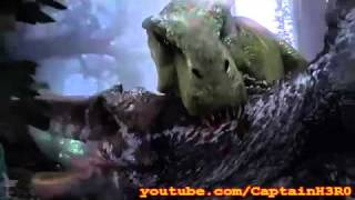Tyrannosaurus Rex KILLS Spinosaurus Aegyptiacus (BEST Quality!)