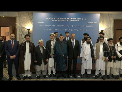 Russia's Lavrov meets with Afghan and Taliban representatives in Moscow