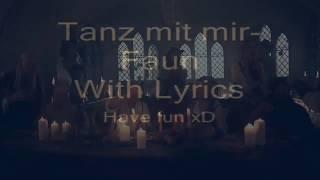 """С Бг превод - Faun """"tanz mit mir"""""""