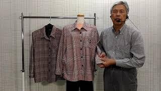 暖かいジャケットブラウスの説明です徳島呉服寝具洋服タオルギフト山善