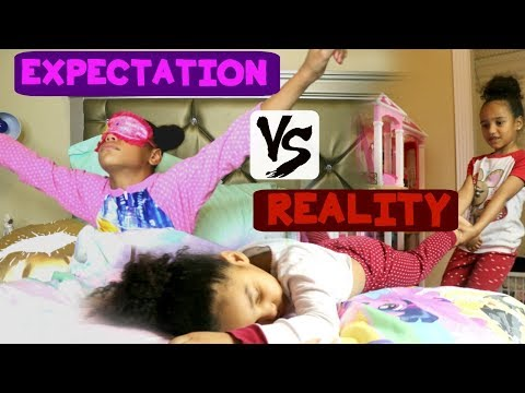 MORNING ROUTINE ( Expectation VS Reality)