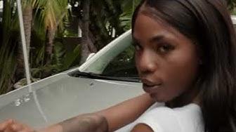Sarah Banks Twerk into Car Wash