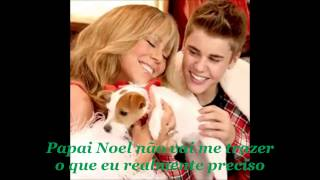 justin bieber all i want for christmas is you traduo