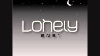 2NE1 - Lonely (piano/guitar backtrack cover) w/ lyrics