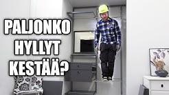 Elfa Hyllyjen Asennus Ja Kestävyystesti Taloon.com