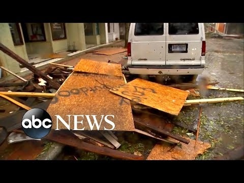 Woman helped rescue family with baby from Hurricane Florence