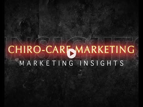 Chiropractic Care Marketing - Online Marketing Strategies