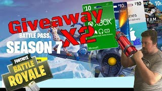 Fortnite / Squads & Duos / 2x $10 Gift Card Giveaway's If We Reach 50 Likes!