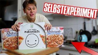 Eine Woche nur PIZZA ESSEN! 😱🍕 - Selbstexperiment (lecker Thunfisch😄)