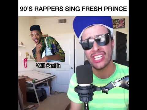 The Fresh Prince Of Bel Air ( 90's Rapper Version)  LIT!
