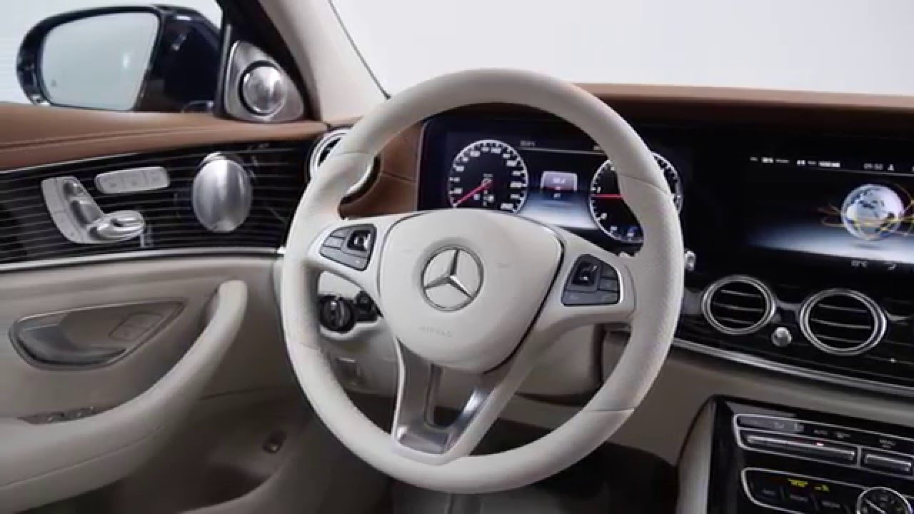Mercedes E-Klasse (W213) 2016 Interieur - YouTube