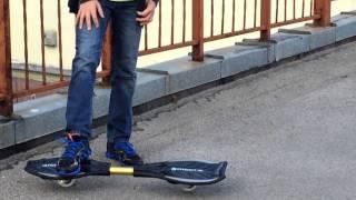 Видеоурок по катанию на двуколёсном скейте