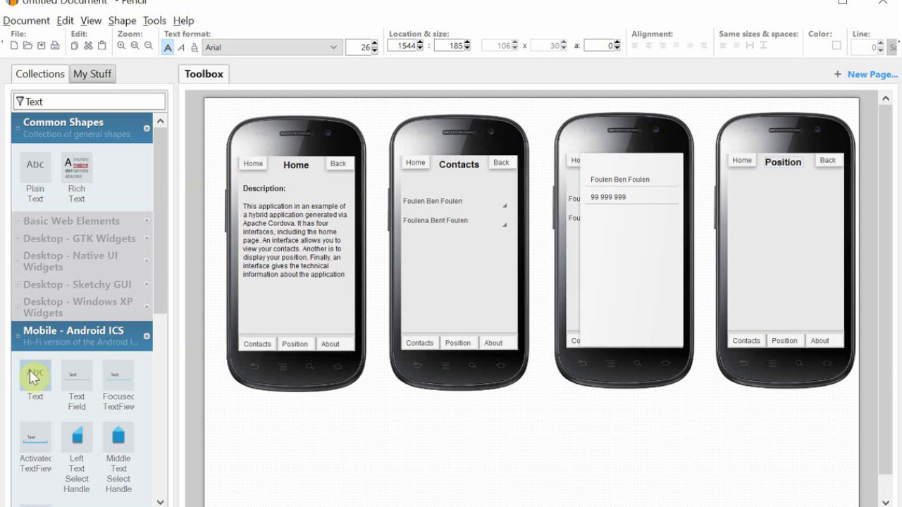 Pencil gui tutorial | 7 Free and Open Source Wireframe Tools to