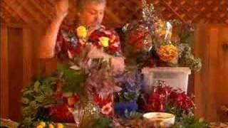 dozen fall rose vase 4x
