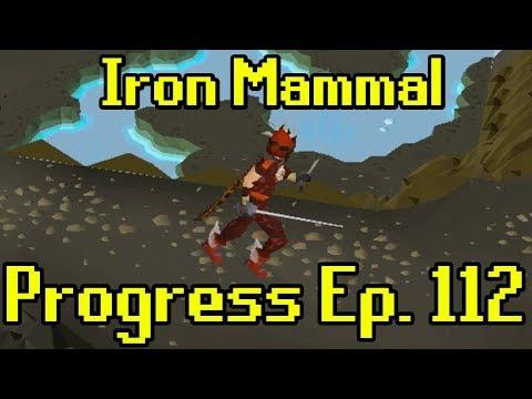 OSRS - 2007 Iron Man Progress Ep. 112 | Iron Mammal