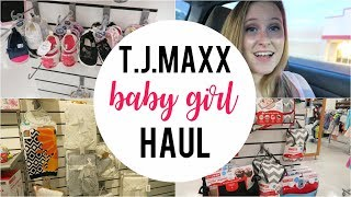 TJ Maxx Shop With Me | Baby Girl Clothing Haul