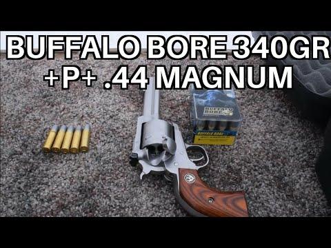 44 Mag Buffalo Bore 340 grain +P+