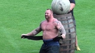 Europe's Strongest Man 2015 - The Mountain Wins Again! Hafthor Bjornsson