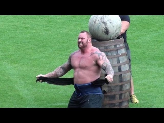 Europe's Strongest Man 2015 - Mountain Wins Again! Hafthor Bjornsson #1