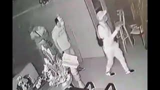 Así ingresaron ladrones a casa de ganadero que los enfrentó a tiros