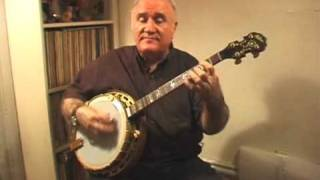 "Banjo Music ""St. Louis Blues"" Eddy Davis Tenor Banjo"