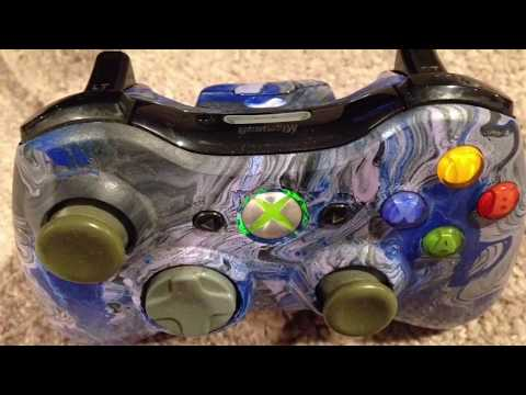 Hydro Dip Xbox Controller ( Paint Dipping )