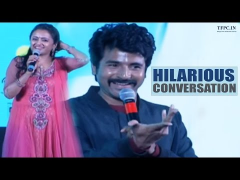 Anchor Suma & Sivakarthikeyan Hilarious Conversation @ Remo Movie Audio Launch | TFPC thumbnail