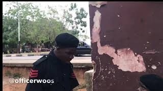 Missing: Officer Woos dog! | OFFICER WOOS