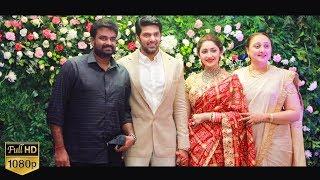 Vijay , Bharath Attend Arya – Sayyeshaa Press Meet after Marriage | Exclusive