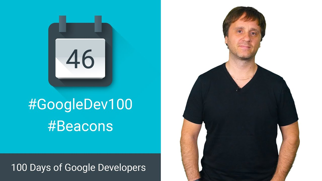 Using Nearby with Beacons (100 days of Google Dev)