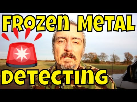 Metal Detecting: Cood Blaarst Me, I Was Fair Frozen!
