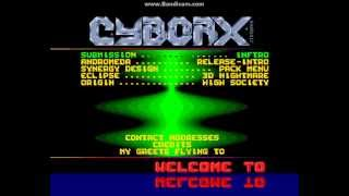 Cyborx - Total Addiction Vol. 8 (Amiga Demoscene 1992) Packmenu