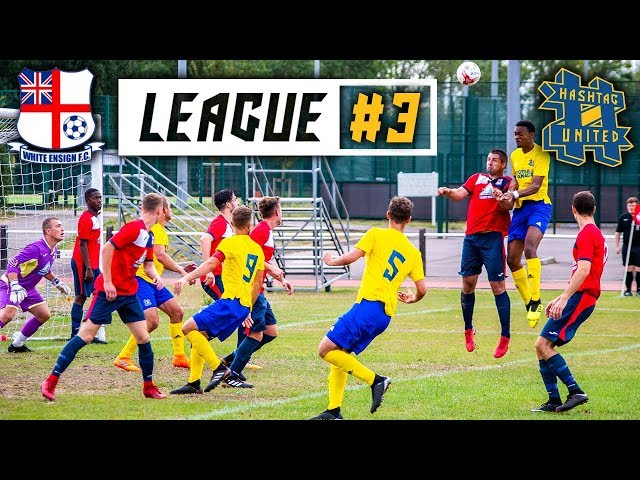 CAN WE BEAT THE LEADERS? - WHITE ENSIGN VS HASHTAG UNITED